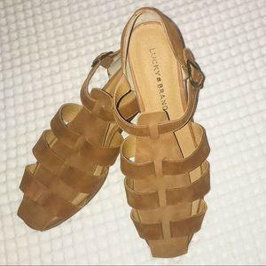 Lucky Brand Women's fisherman sandal